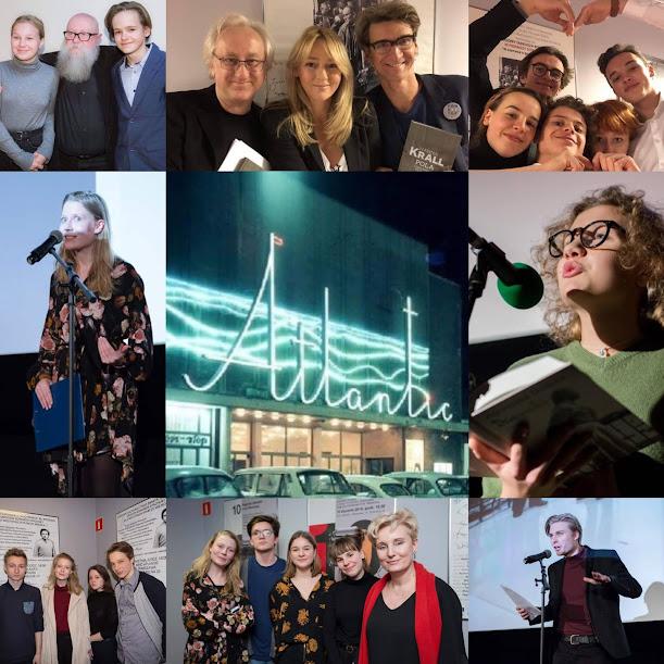 zdjęcia z naszych występów w kinie Atlantic