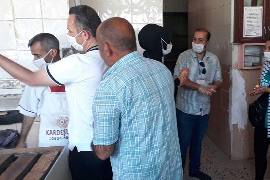 Diyarbakır Bağlar Belediyesinden geniş kapsamlı Coronavirus denetimi