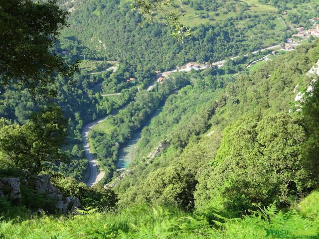 Río Cares desde Trespandiu