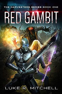 Red Gambit - a pulse-pounding alien invasion adventure by Luke R. Mitchell