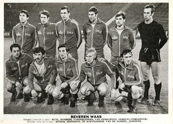 S.K. BEVEREN-WAAS 1970-71. By Voetbal Sterren.