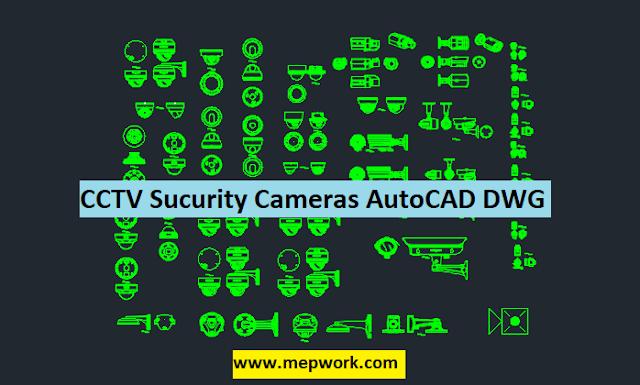 Download CCTV Camera AutoCAD Blocks DWG