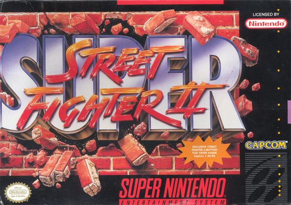 Super Street Fighter II - Portada