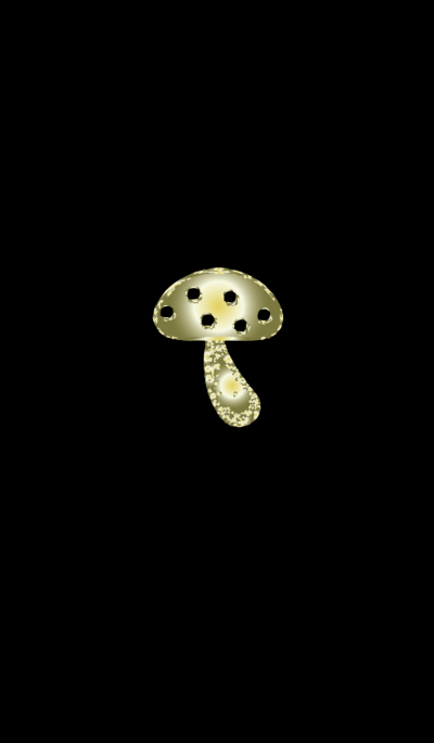 Simple mushrooms with luck