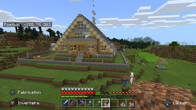 Minecraft house cawood blog geeklit.com