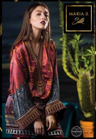 Mariab Luxury Silk Collection 2018 Maria B Bridal Formal Dresses