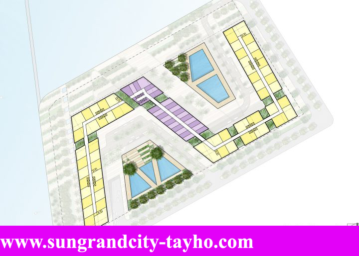 Mặt bằng Sun Grand City Tây Hồ Quảng An