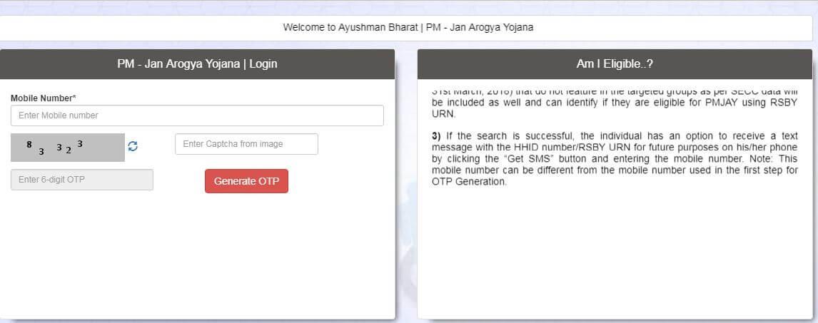 Ayushman Bharat Yojna 2018   Online Registration - Apna CSC Help