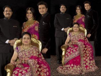 riteish deshmukh and his family
