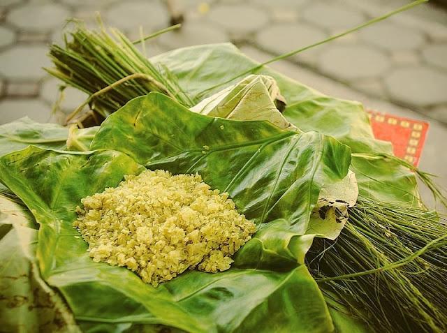 Cảm nhận trọn vẹn hương vị mùa thu - cốm làng Vòng
