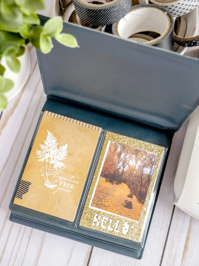How To Create a Heidi Swapp Instax Vintage Flip Album by Jamie Pate | @jamiepate for @heidiswapp