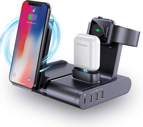 Seenda 90W USB C Charging Station for Multiple Devices