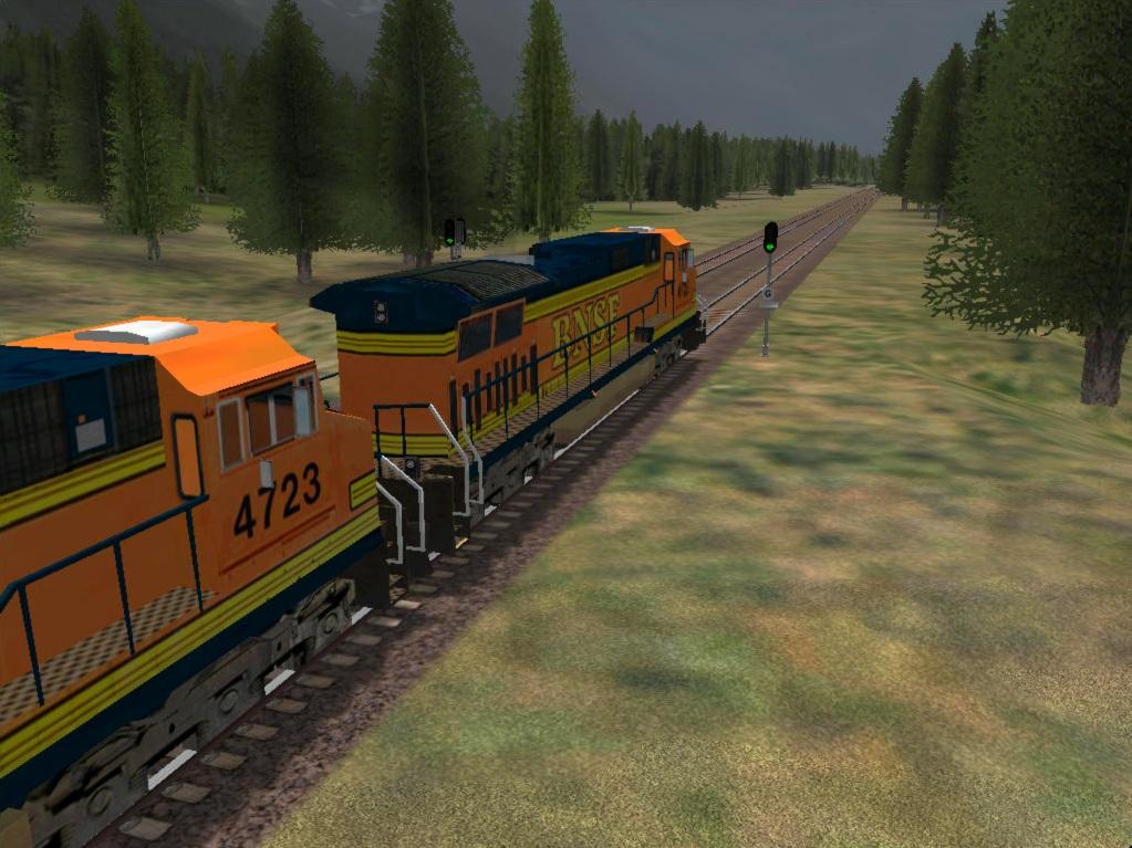 Microsoft train Simulator Addon