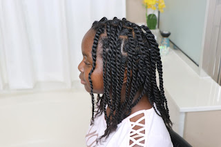 Individual Box Twists Braids on Natural Hair without Extensions | DiscoveringNatural