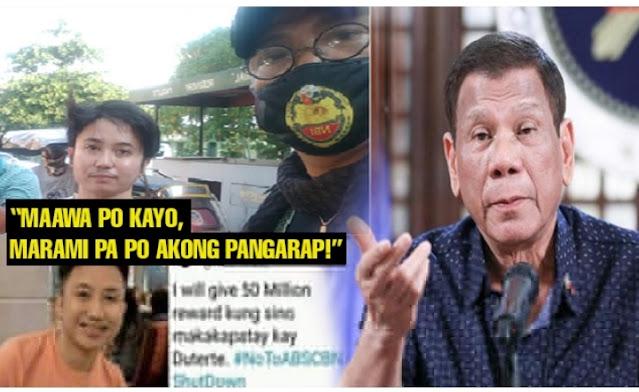 25 Anyos magbibigay pabuya sa makakapatay ni Dutertre, Huli