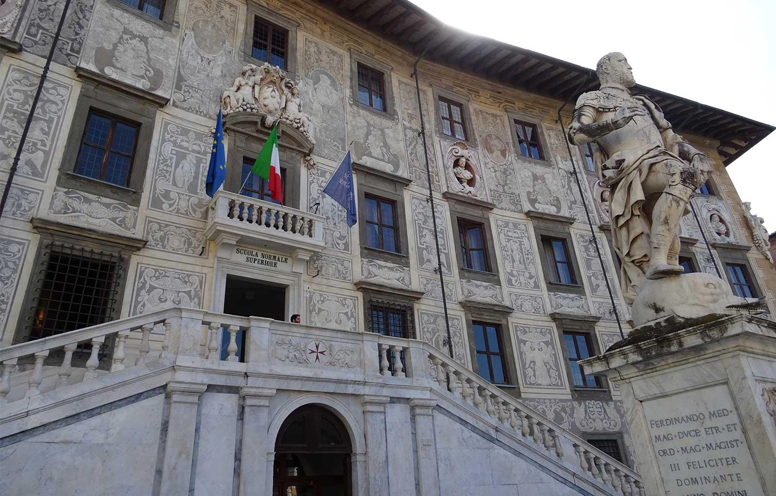 Voyage italie toscane Pise piazza dei cavalieri