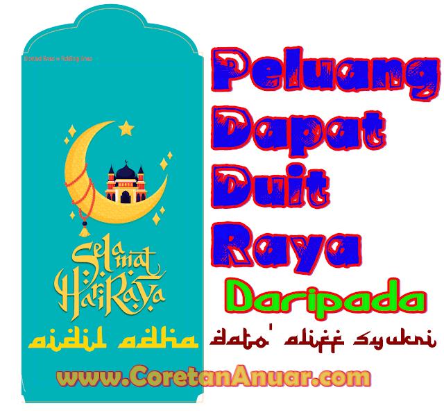 Peluang Dapat Duit raya Daripada Dato Aliff Syukri