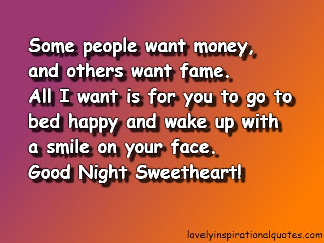 Good Night Quotes For Someone Special You Love