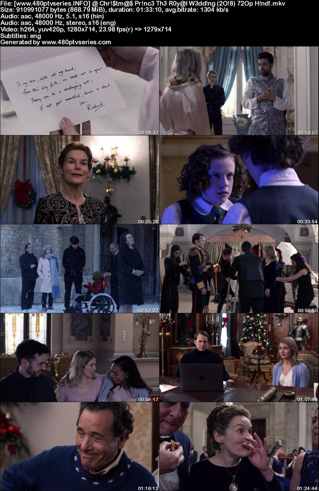 A Christmas Prince: The Royal Wedding (2018) 850MB Full Hindi Dual Audio Movie Download 720p Web ...