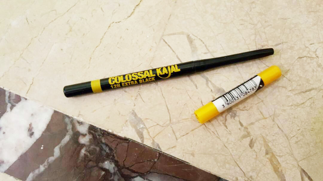 Maybelline Colossal Kajal Packaging