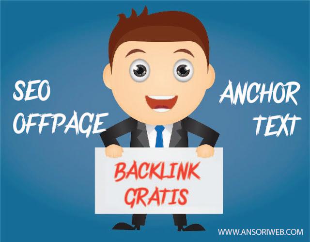 Cara Mendapatkan Backlink Anchor Text Berkualitas dan Gratis