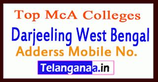 Top MCA Colleges in Darjeeling West Bengal