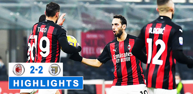 Milan vs Parma – Highlights