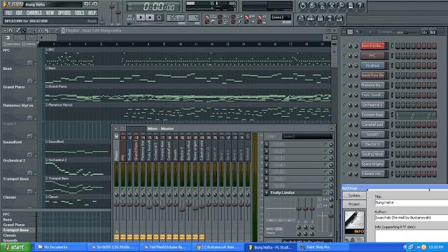 Alat Musik Modern Gadget Laptop