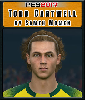 PES 2017 Faces Todd Cantwell by Sameh Momen