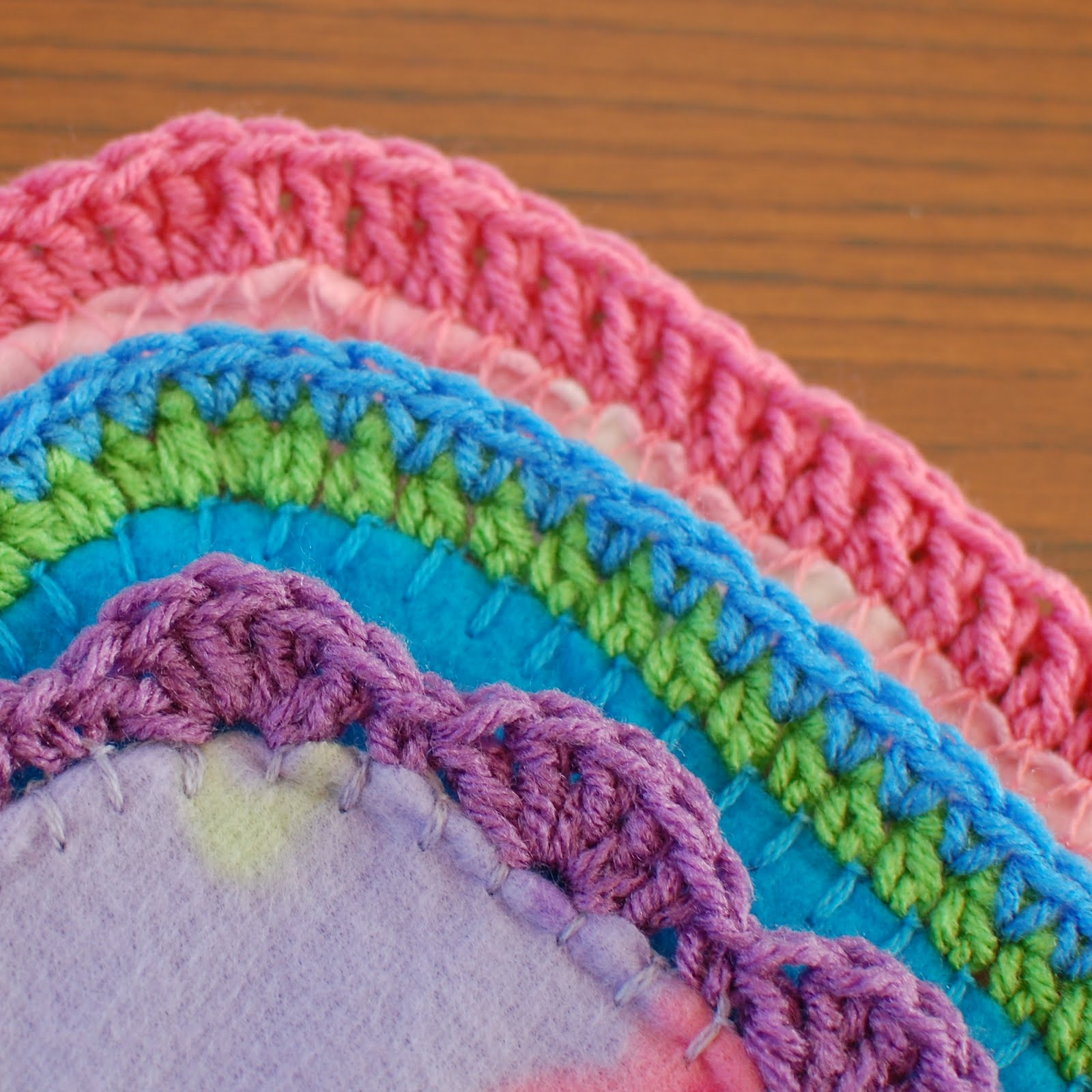 Quick And Easy Crocheted Blanket Edging Patterns Petals