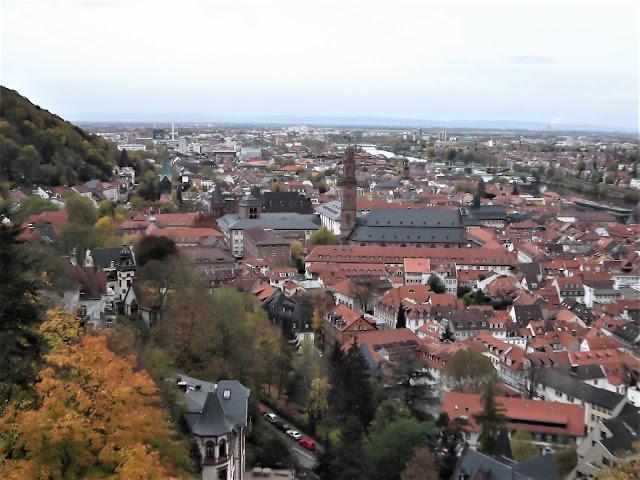 """Heidelberg Schloss Goethe und """"Suleika"""""""