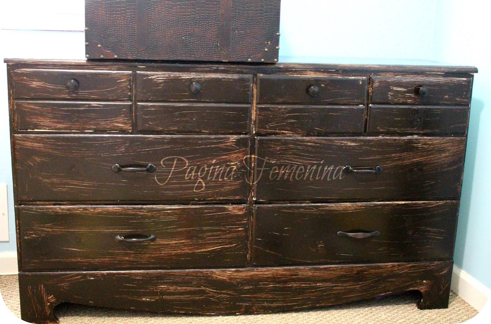 C mo renovar los muebles viejos super f cil p gina femenina for Como restaurar un mueble viejo