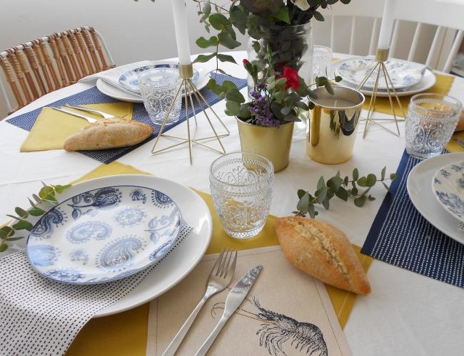 Vestir la mesa para invitar en casa