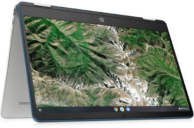 HP Chromebook x360 14a-ca0005ns