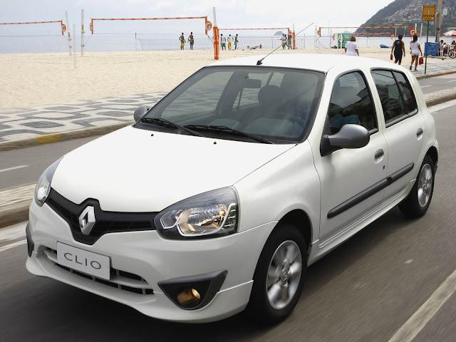 Renault Clio - terceiro sub-compacto mais vendido na América Latina