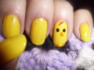 manicura pollito