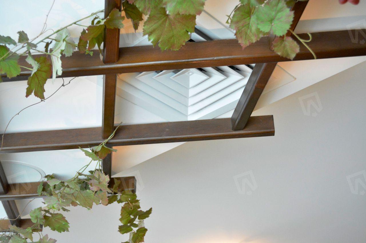 Потолочная вентиляционная решетка