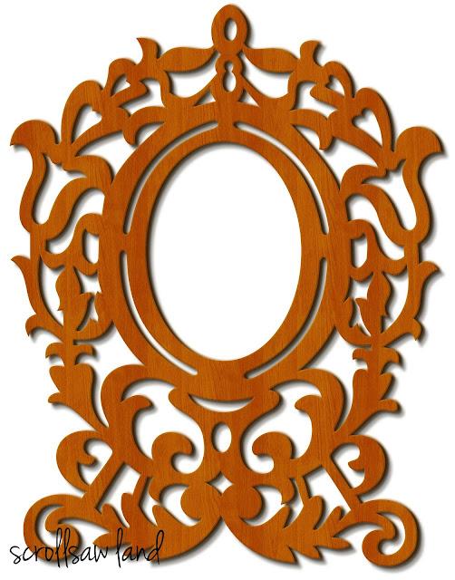 wooden,mirror