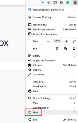 Bagaimana cara memperbarui browser Mozilla Firefox