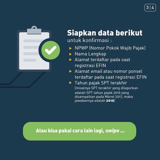 Mau Lapor SPT Pajak Via e-Filing Tapi Lupa EFIN? Jangan Panik Dulu, Lihat Cara dan Solusinya