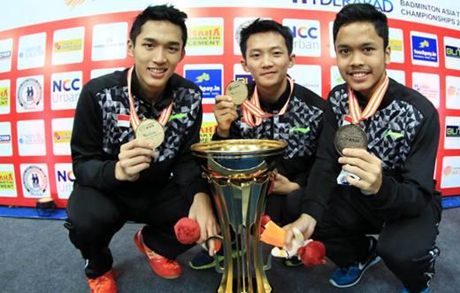 Jadwal Badminton Asia Championships 2018 Tunggal Putra