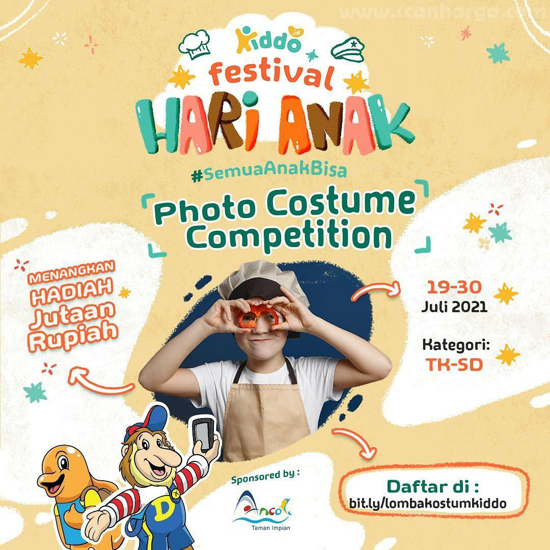 Dufan & Kiddo Present Photo Costume Competition di Festival Hari Anak