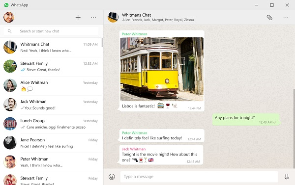 WhatsApp releases app for Windows 8/10 and Mac OS X