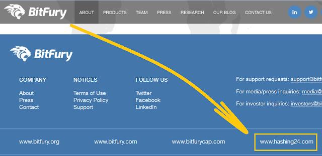 Hashing24 adalah anak perusahaan BitFury