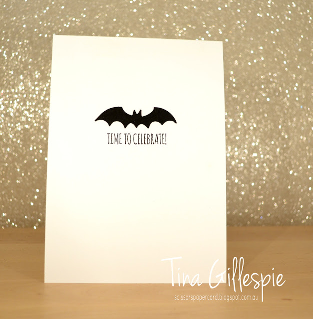 scissorspapercard, Stampin' Up!, Itty Bitty Birthdays, Bat Punch, Stitched Shapes Framelits, Super Hero