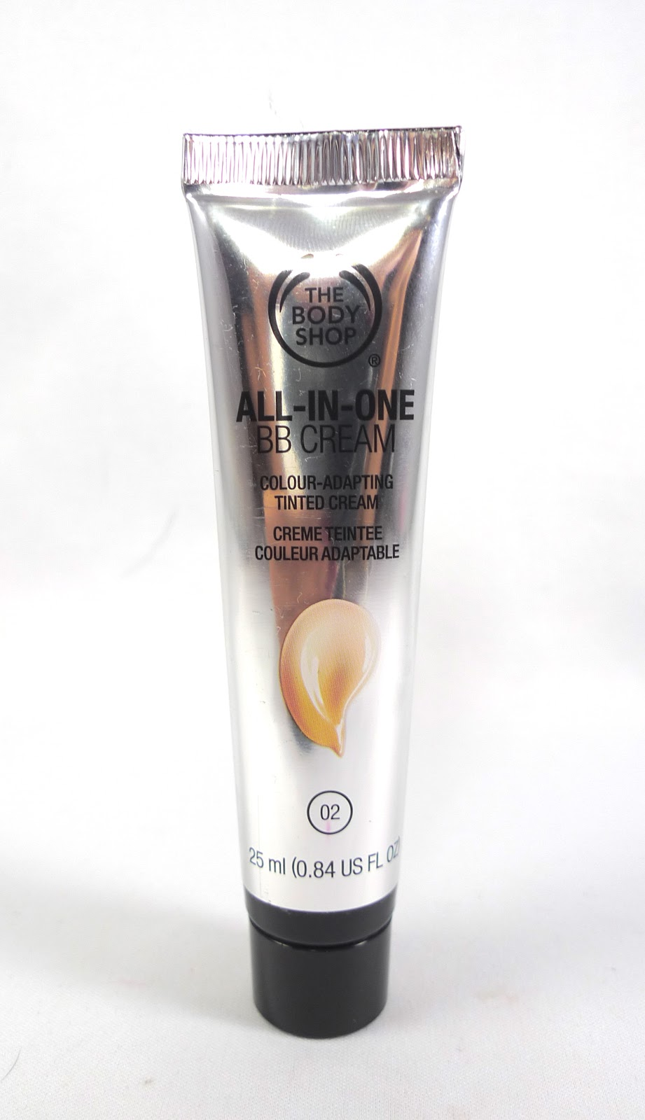 Review the body shop all in one bb cream in 02 the for Bb shop