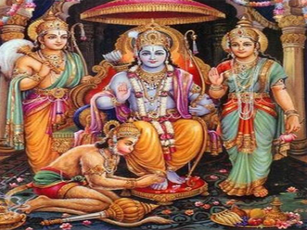 Sri Rama Parrabhishekam.