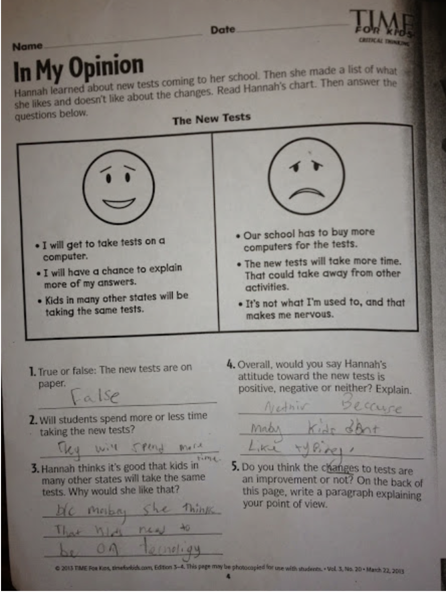 if you see odd questions like this brought home by your child please email them to us at panhandleeagleforumatgmail com