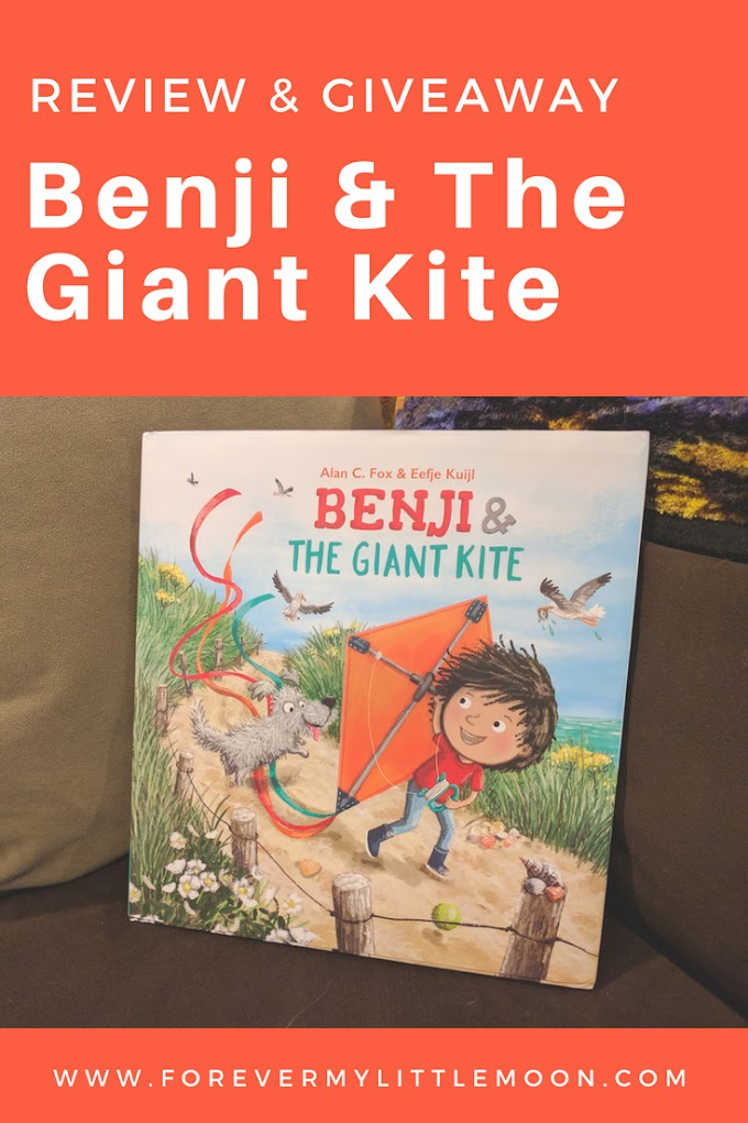 Benji & The Giant Kite Book Review & Giveaway