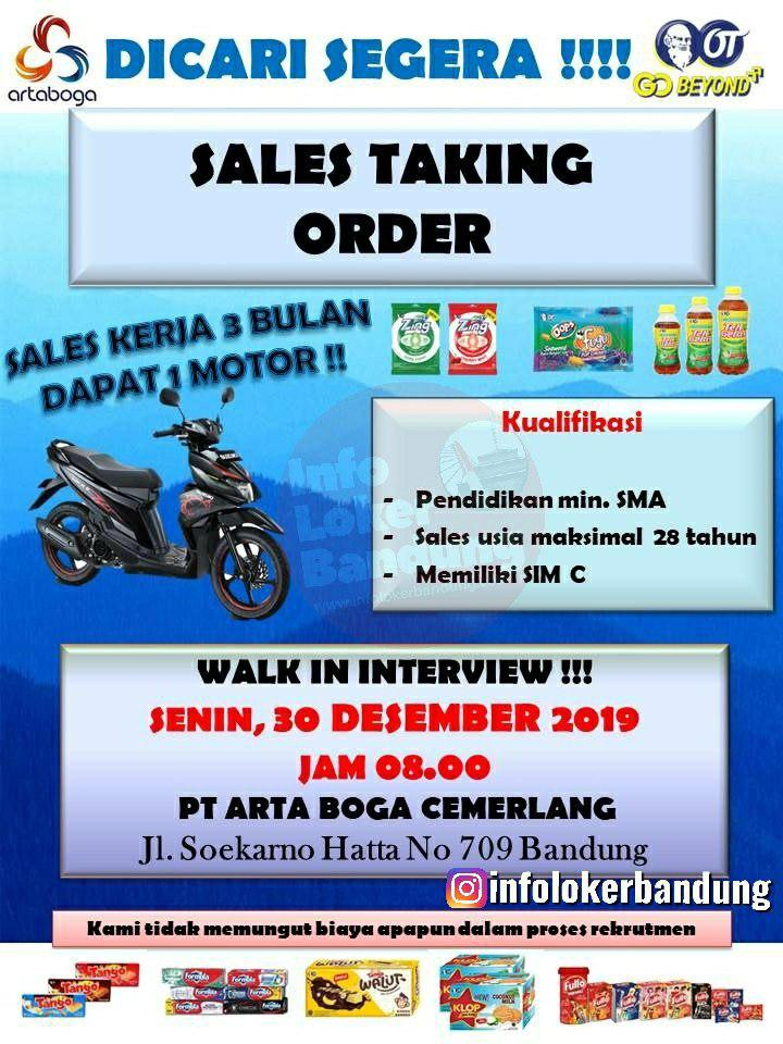 Walk In Interview PT. Arta Boga Cemerlang 30 Desember 2019